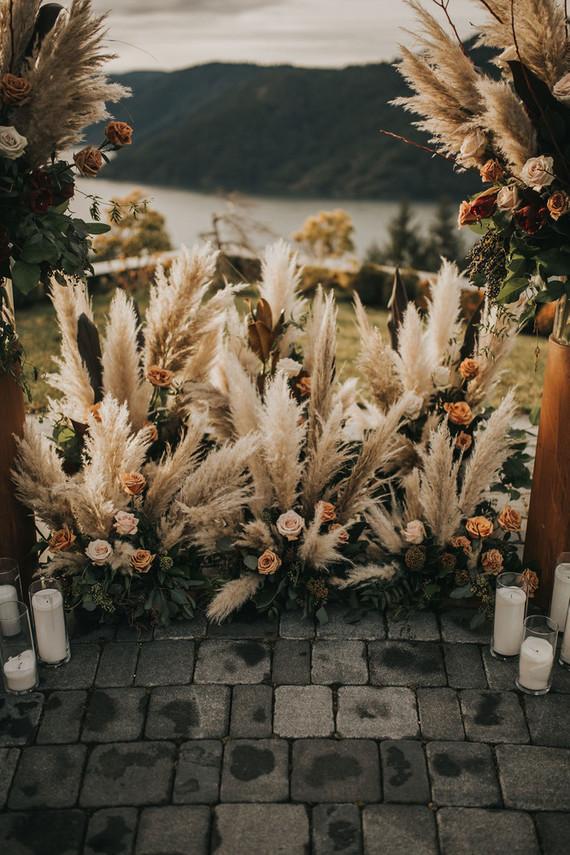 Moody boho NYE wedding