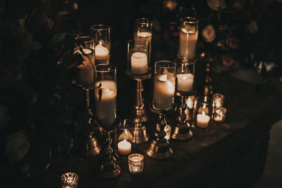 Moody NYE wedding