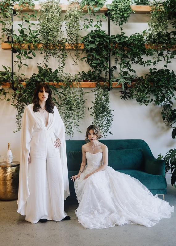 Modern bridal ideas