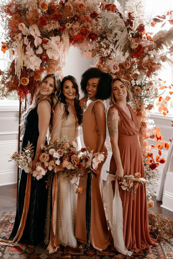 Fall bridesmaid dresses