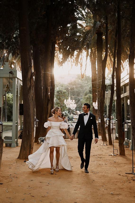 glamorous Seville wedding