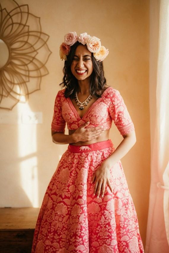 Modern Indian bridal fashion