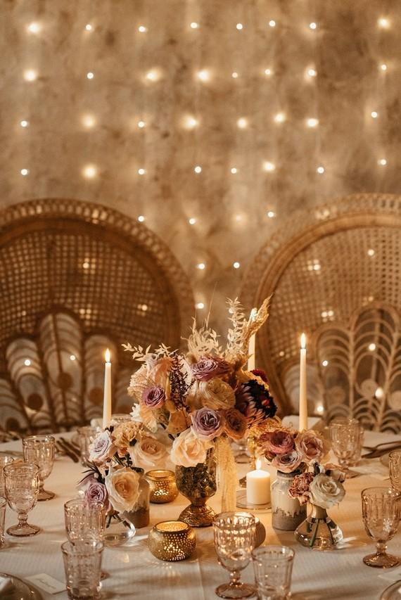 lighting backdrop for wedding