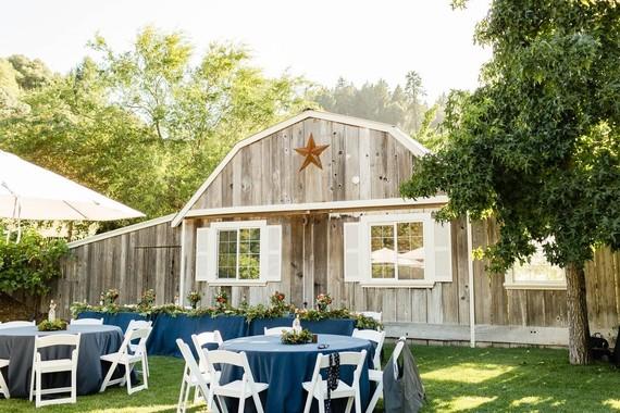 Barn wedding venue