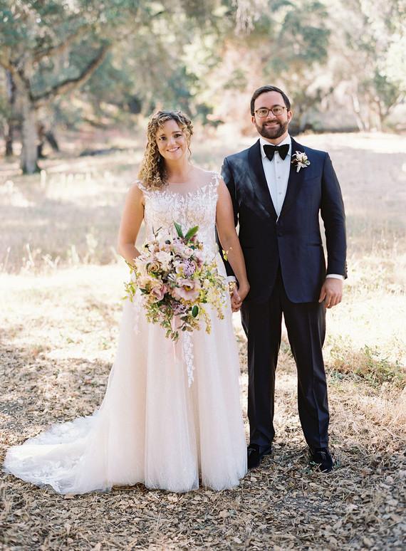 Elegant wedding portrait