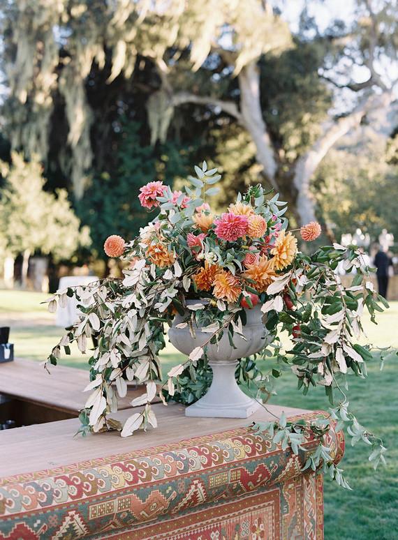 Elegant wedding florals