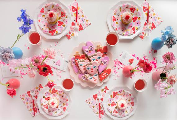 Valentine's Day cupcakes