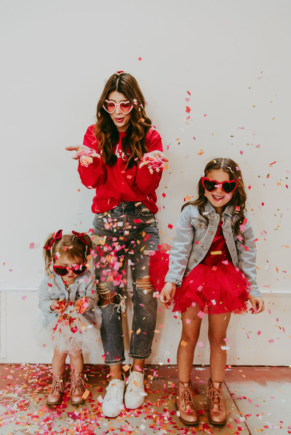 mother-daughter galentine's party