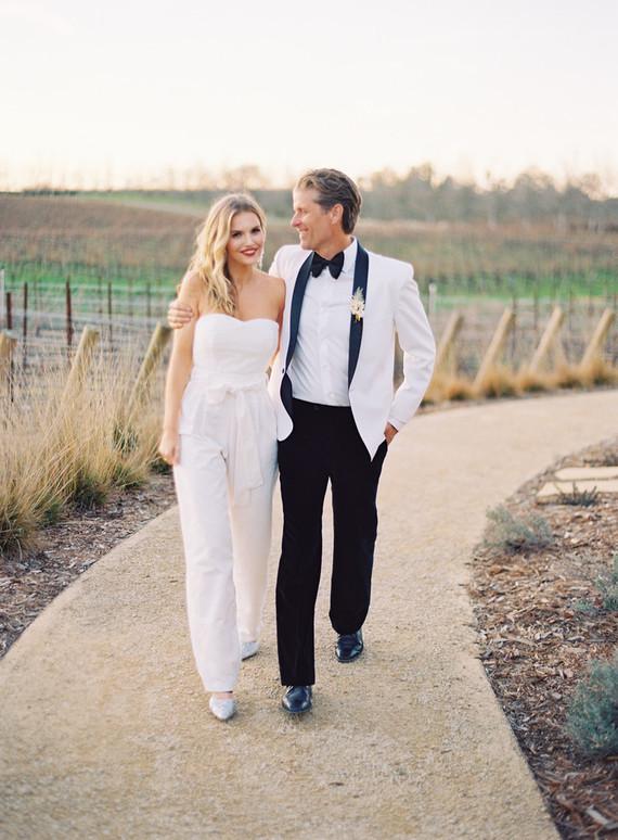 bridal jumpsuit for reception