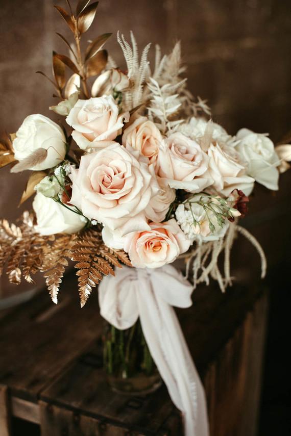 blush bridal bouquet