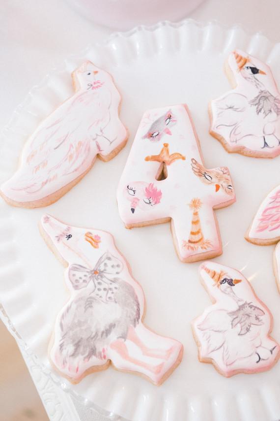 bird sugar cookies