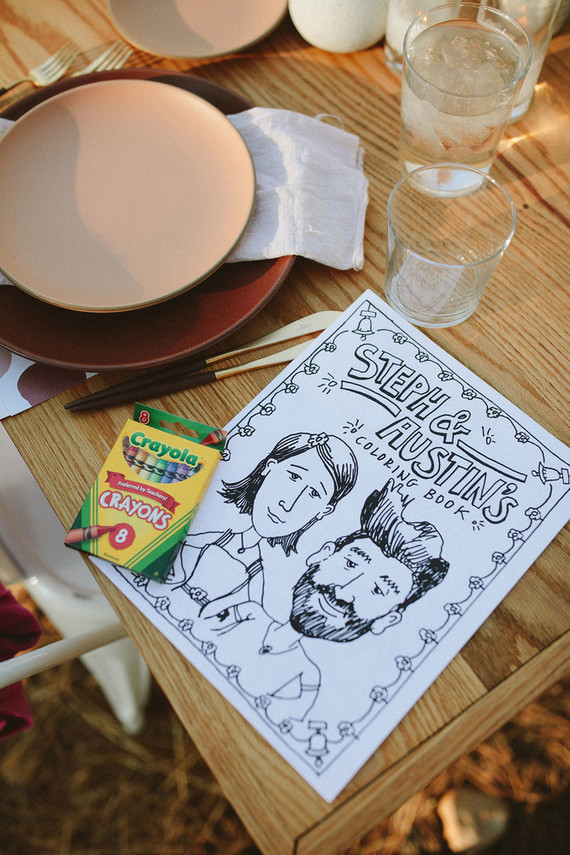 coloring book for wedding