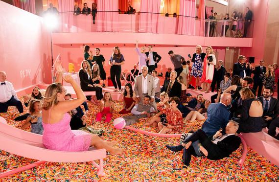 Museum of Ice Cream wedding