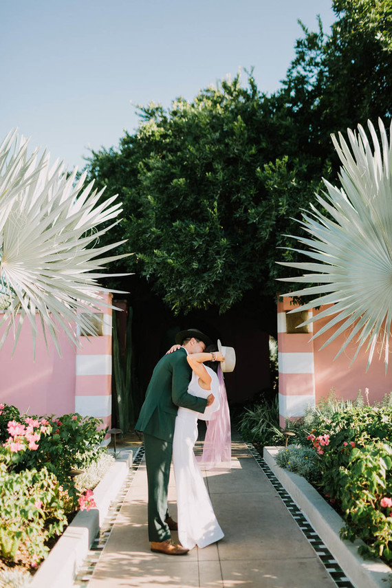 The sweetest Palm Springs family Vow Renewal at The Sands