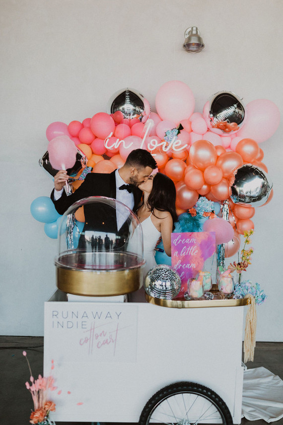 cotton candy bar for wedding