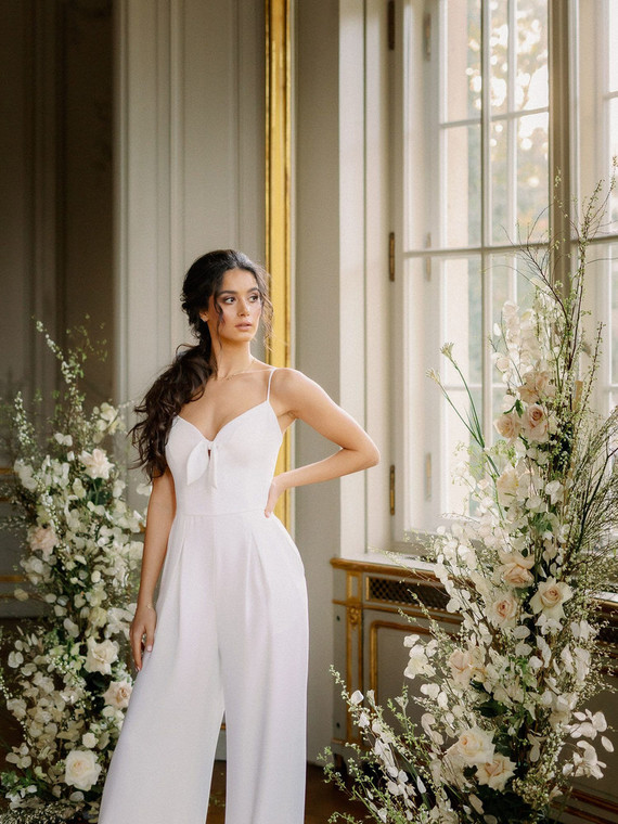 Aimé Berlin bridal jumpsuit