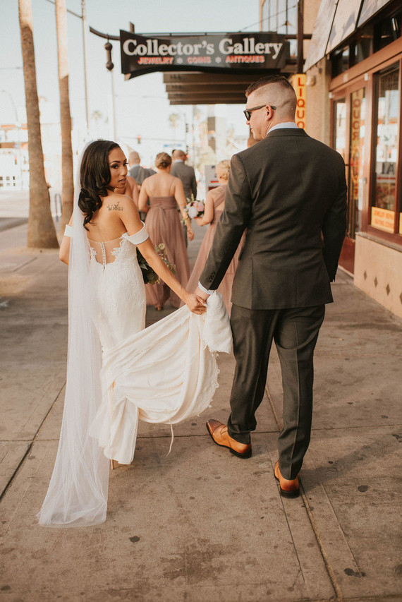DIY bridal veil