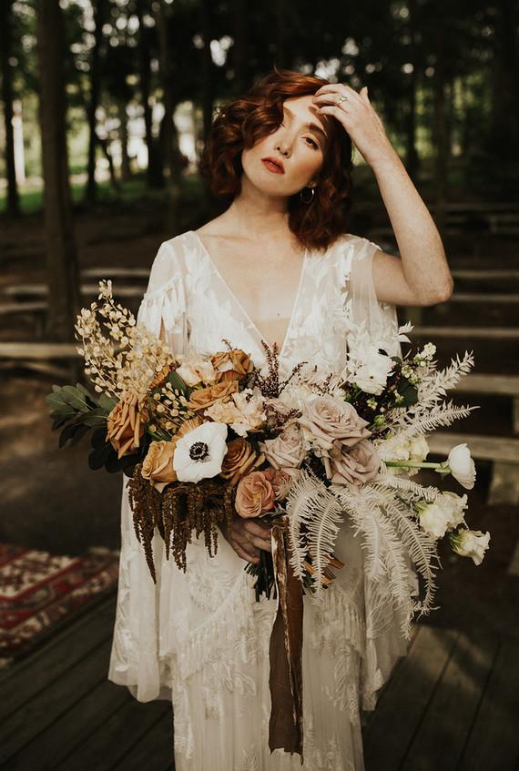 Fall Cedar Lakes estate wedding