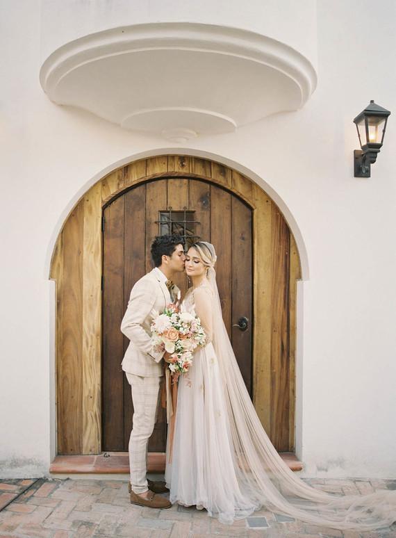 Costa Rica wedding portrait
