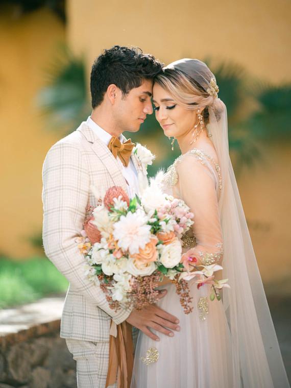 unique long bridal veil