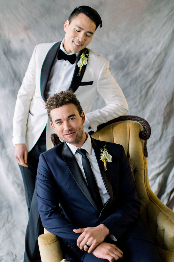 modern groom's fashion