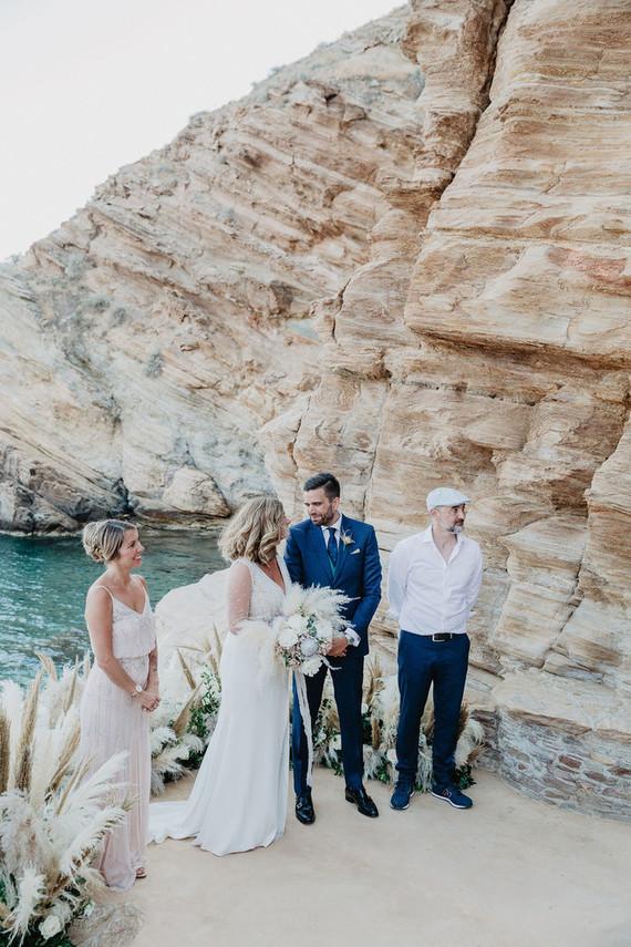 Micro wedding in Ios, Greece