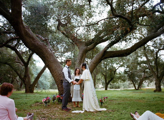 Sweet southern California family elopement at a park