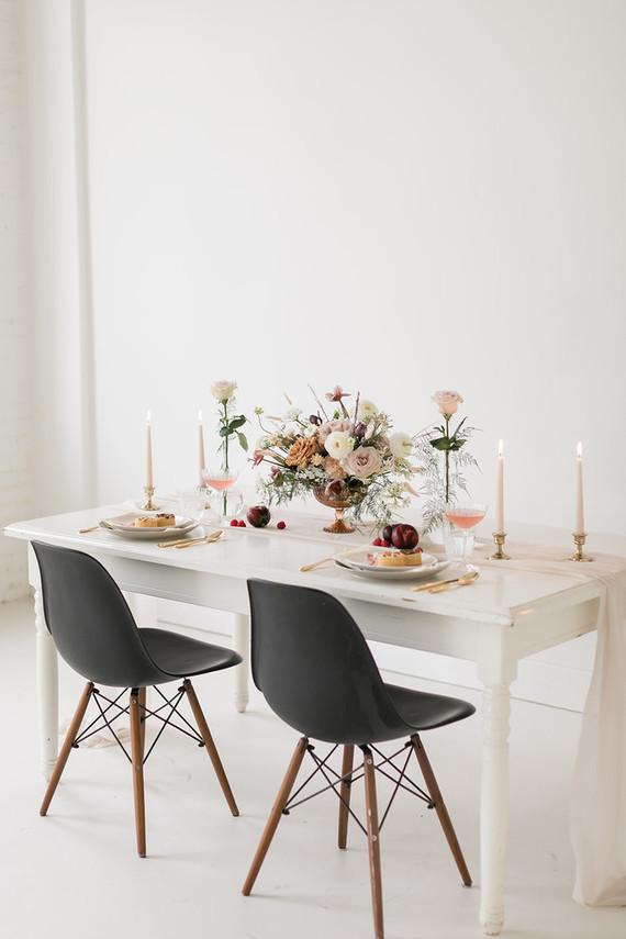 minimalist dried flower wedding ideas