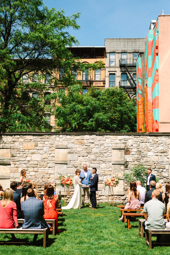 New York City ceremony