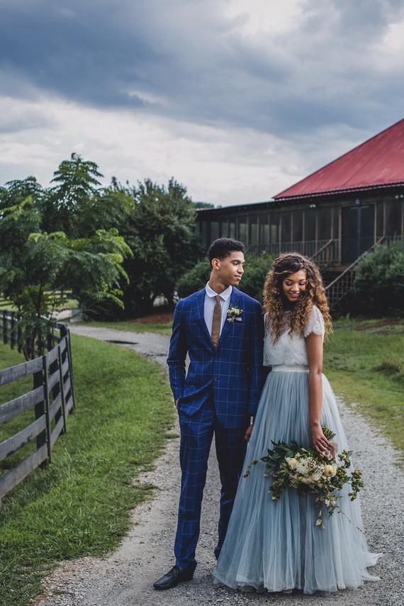 Ranch wedding portraits