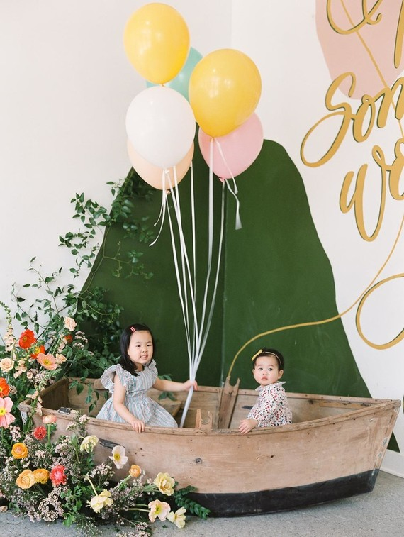 The Wonderful Things You Will Be first birthday party at Whimsy in Pasadena