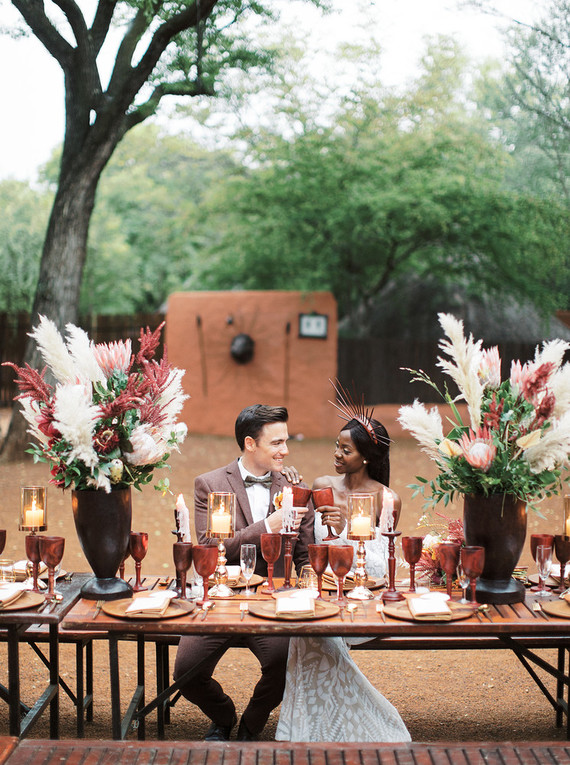 Africa wedding inspiration