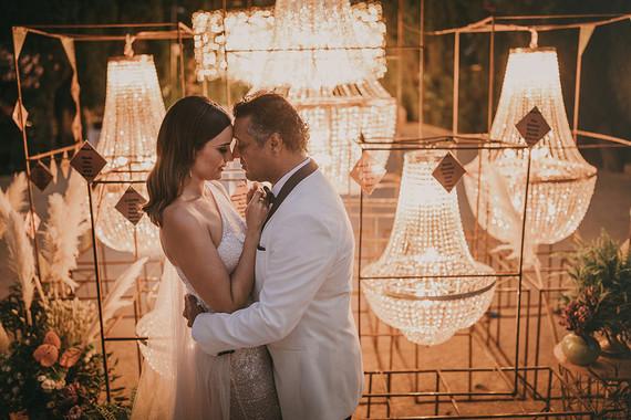 chandelier wedding decor