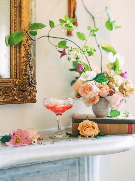 Summer wedding cocktail