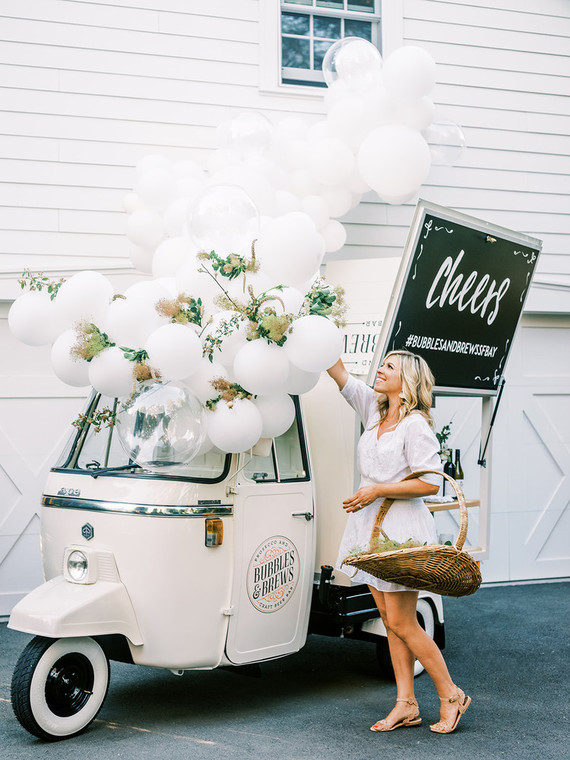 Bubbly bar cart