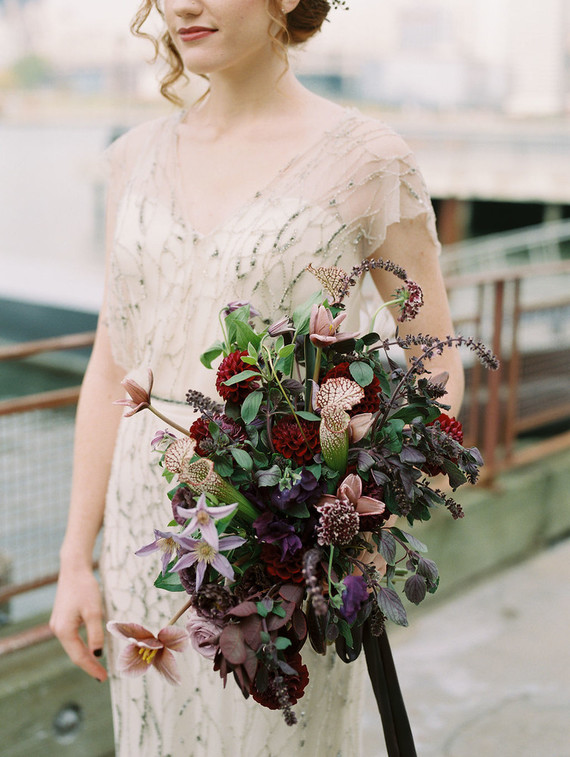Jewel Toned bouquet
