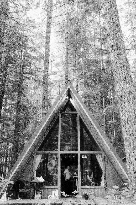 A-frame home