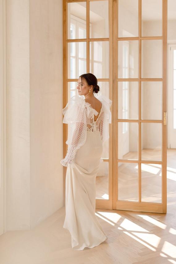 Anna Fucà wedding gown