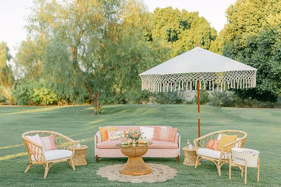 Tropical Summer wedding