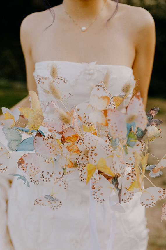 A wedding planner's butterfly-themed wedding in Carmel Valley