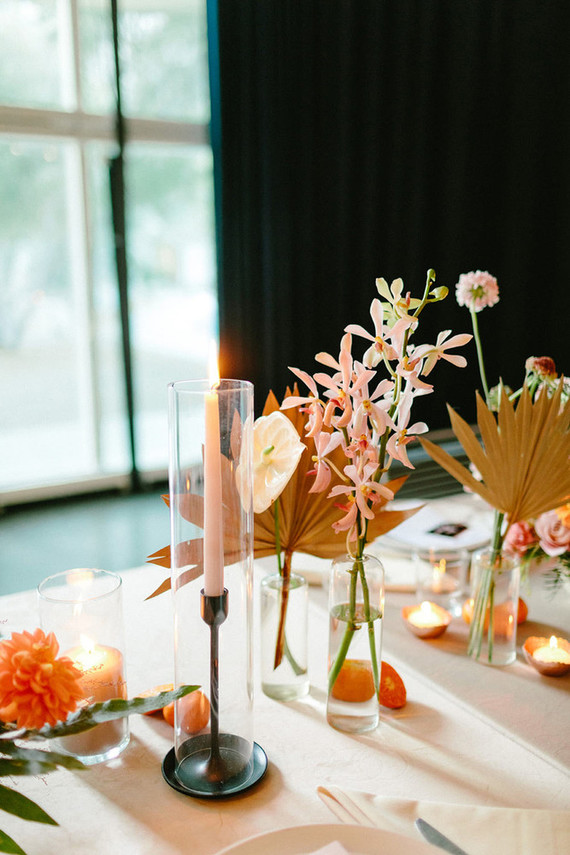 Ace Hotel Palm Springs wedding tablescape