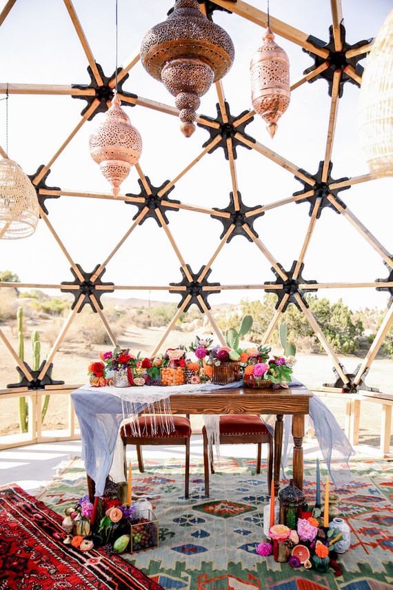Moroccan inspired Micro Wedding