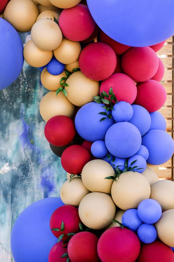 Balloon Arch Backdrop