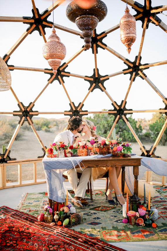 Moroccan inspired Micro Wedding