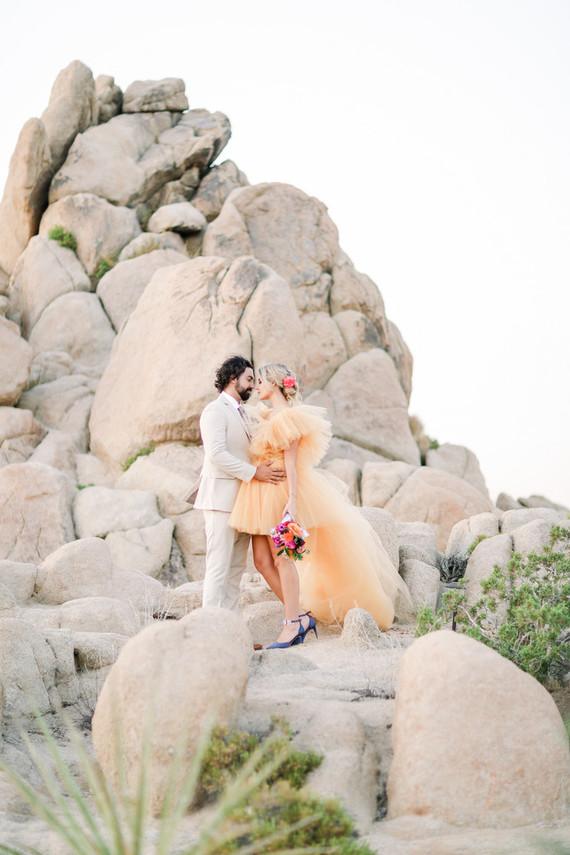 Joshua Tree micro wedding