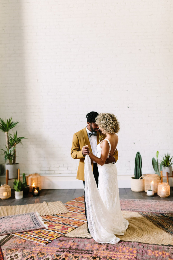 Rustic desert wedding ideas