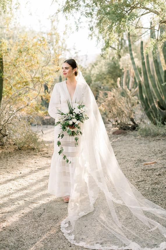 Palm Springs bride
