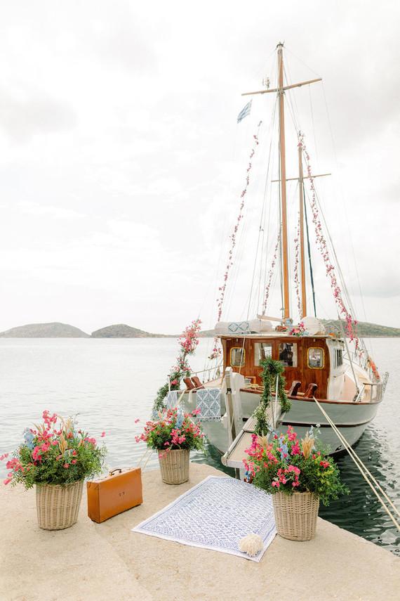 sailboat wedding