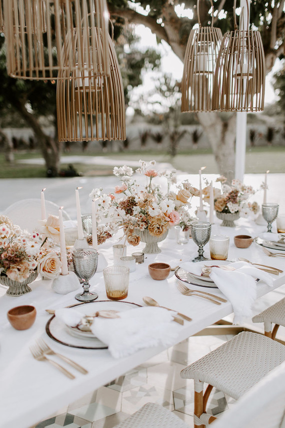 Mexico wedding tablescape