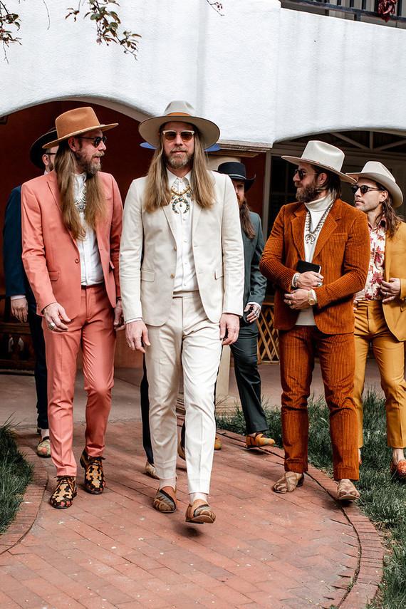 Santa Fe wedding groomsmen